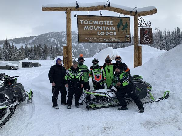 workplace incentives program - snowmobile trip